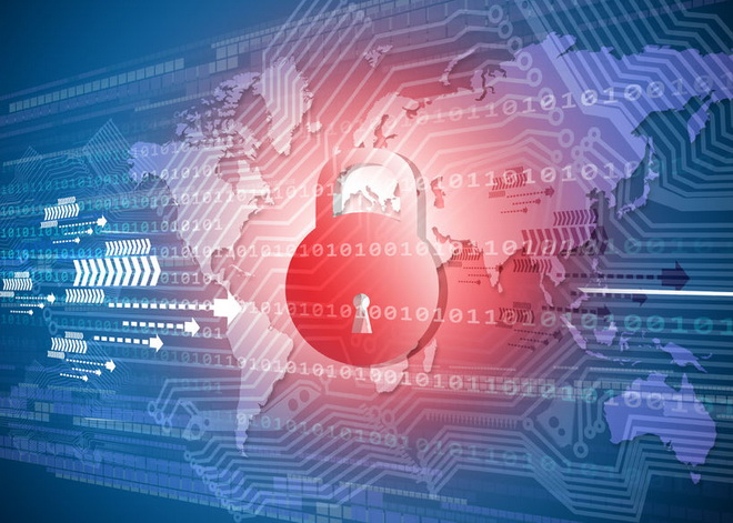 48242956 - global cyber security concept